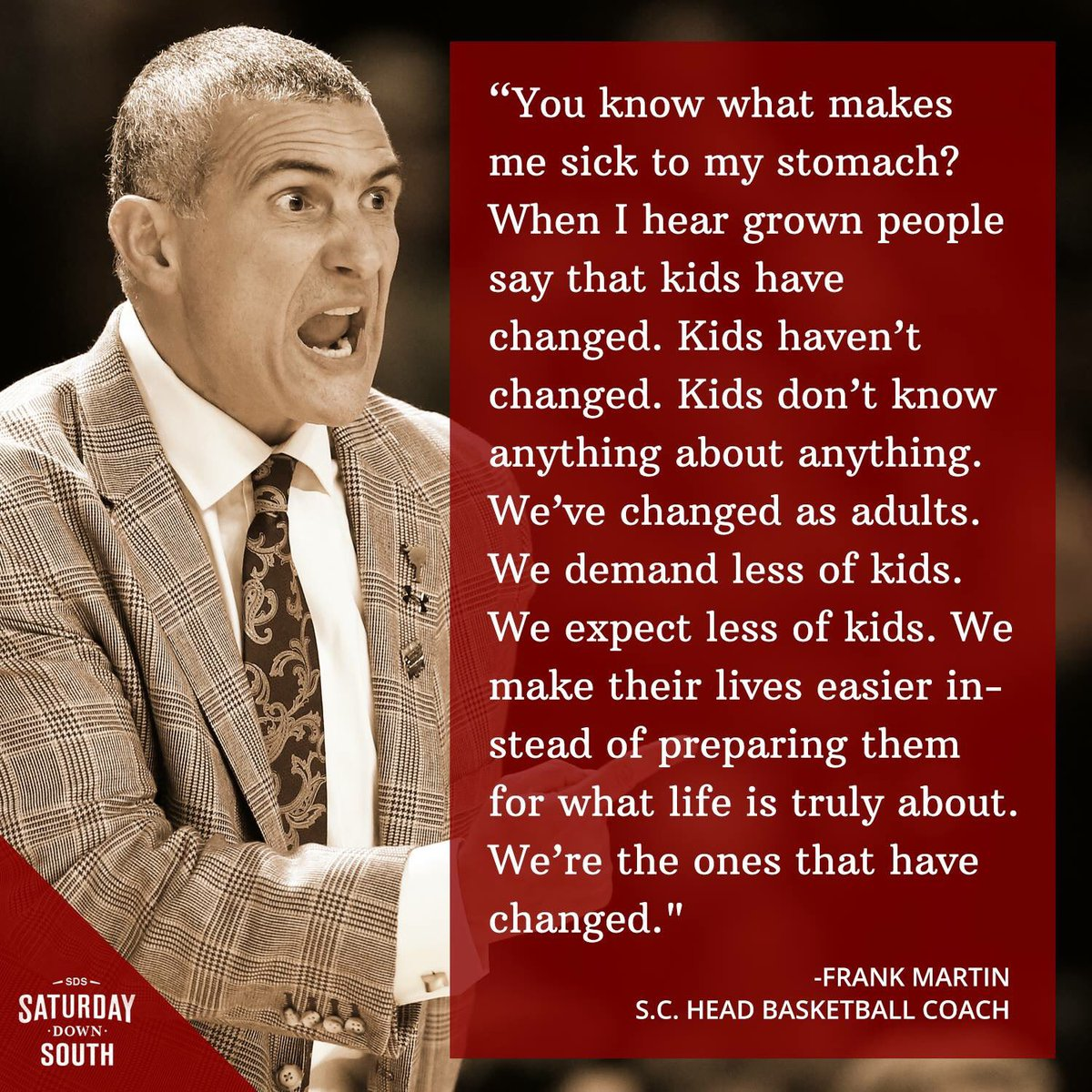 How right you are @FrankMartin_SC https://t.co/0n7qTNddGX