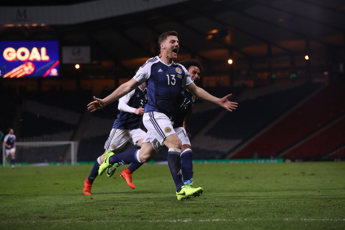 Late drama!  Chris Martin keeps Scotland's hopes alive with a last-gas...