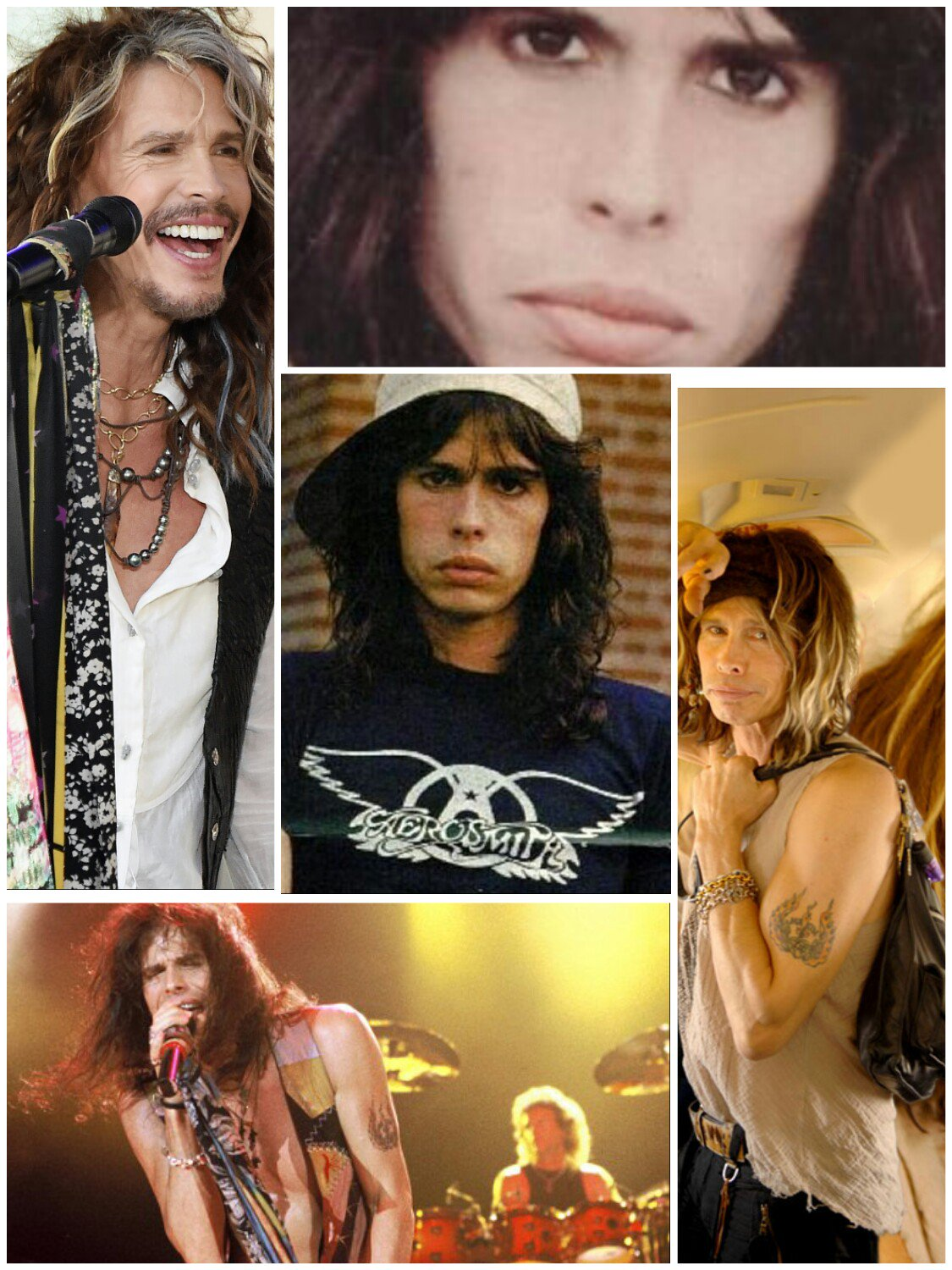 Happy birthday steven tyler god bless you I love hoy