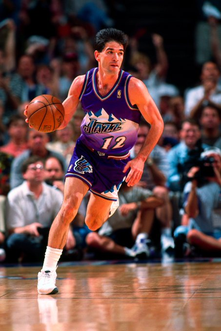 Happy 55th birthday to the NBA\s leader in assists & steals, John Stockton
