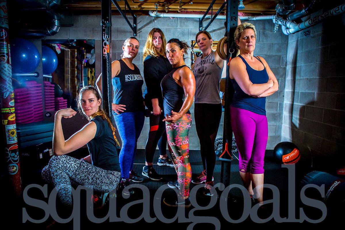 The fit clinic squad chicks and our fearless leader Trish #squadgoals #badass #healthy #newyearnewme <br>http://pic.twitter.com/P9lLYPneoP