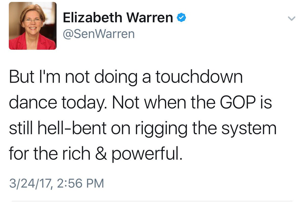 When she says rich and powerful she meant hardworking Americans that have to pay for all those not working.