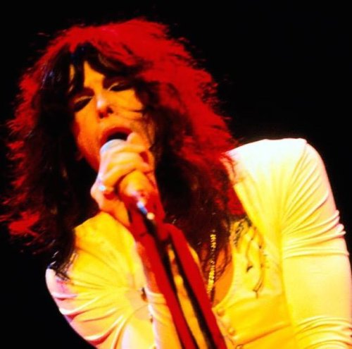 The Real Mick Rock Happy birthday Steven Tyler! Performing live with Aerosmith in...