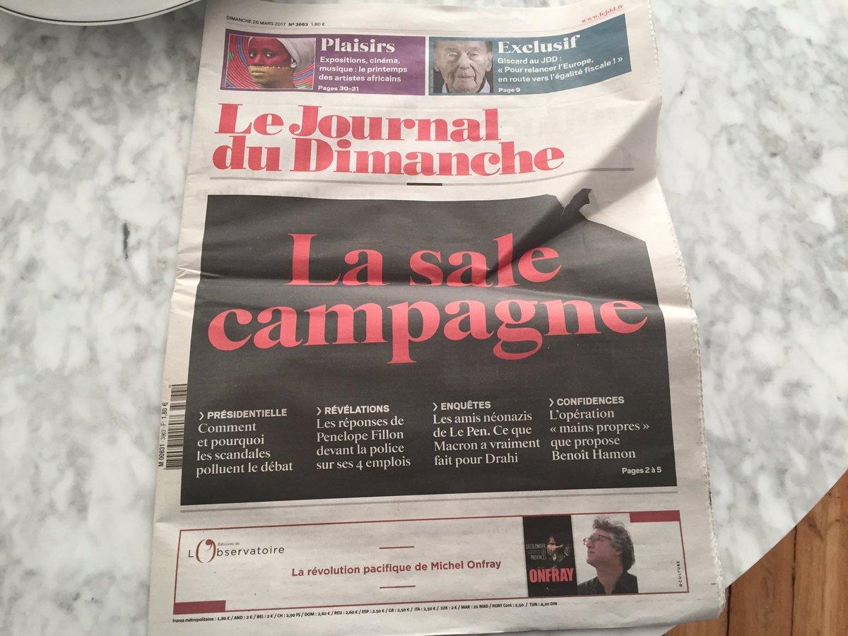 J-28 Il n&#39;y a pas d&#39;heure pour l&#39;instant #JDD ;)  #Presidentielle2017 #Pol #ComPol<br>http://pic.twitter.com/OqHzOHFh4N