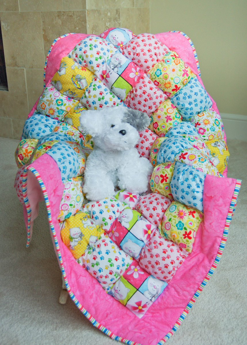 #Bright #Pink Miss Kitty #BabyGift #ShowerGift #TummyTime #Newborn #Nursery Check out my quilt shop today!   http:// buff.ly/2ohuoGv  &nbsp;  <br>http://pic.twitter.com/TsIztXtHkh