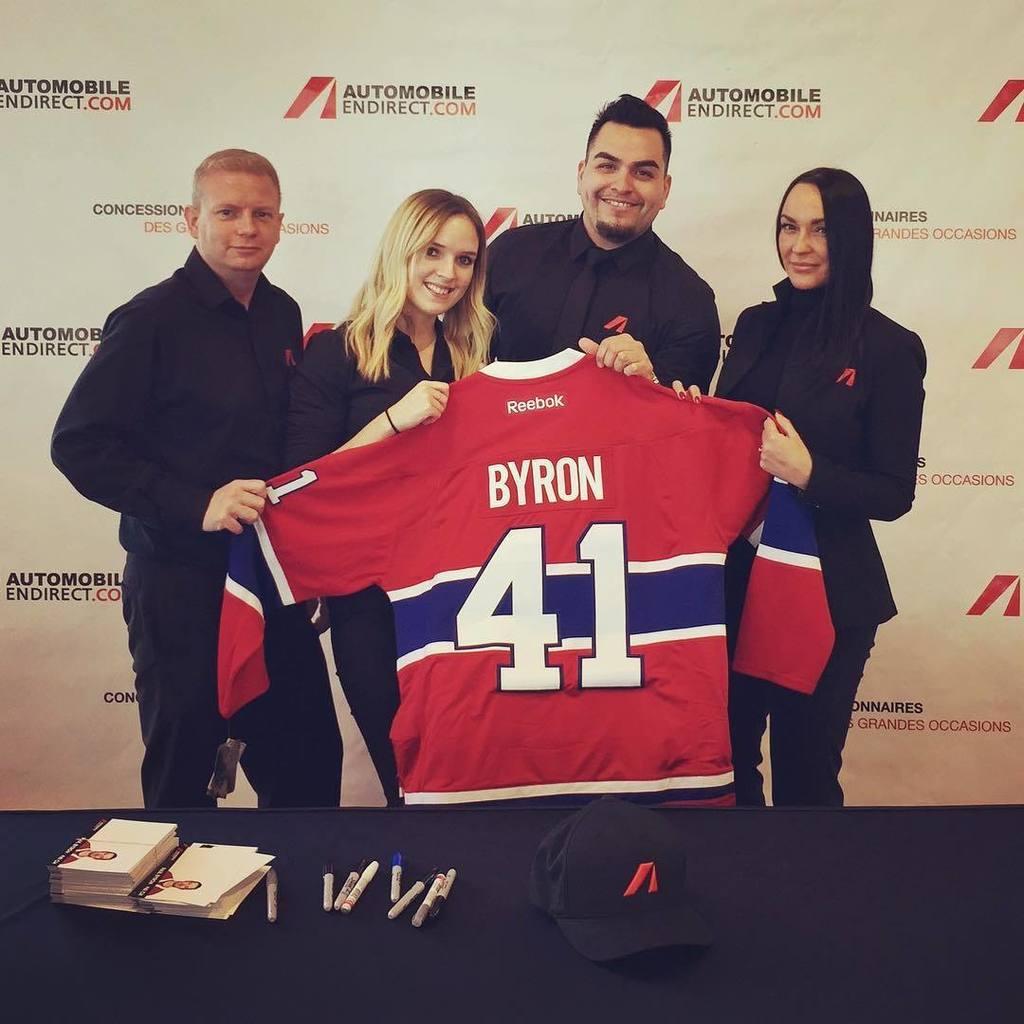 Notre équipe est prête à accueillir Paul Byron #41 du CH! Passez nous...