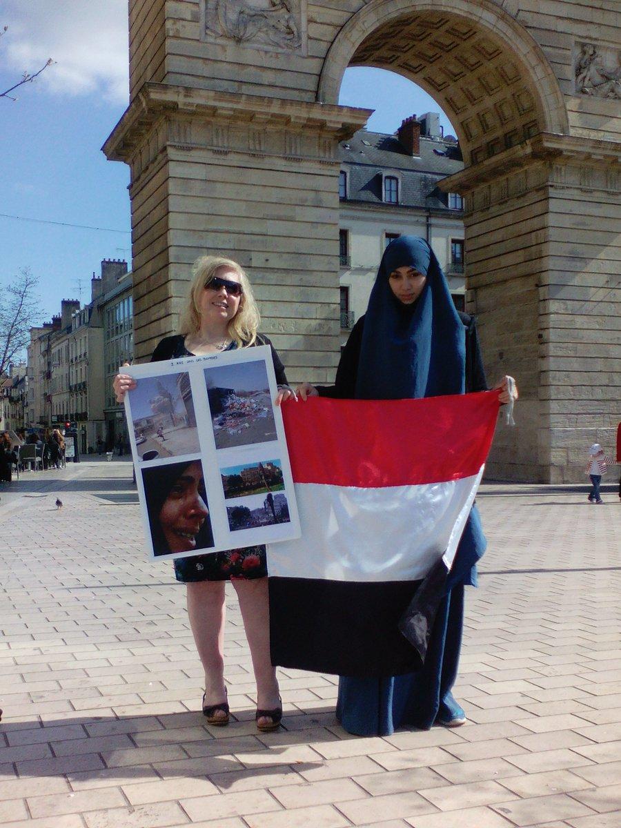 Thks @Mary_UB7 Women=52% &amp; support ALL WORLD IS GOOD 2017 100% #humanity vs 1% #Fear MUST END #Wars 26/3 #Yemen 2yrs #VigilForYemen #Peace<br>http://pic.twitter.com/PMMuW7lPmO