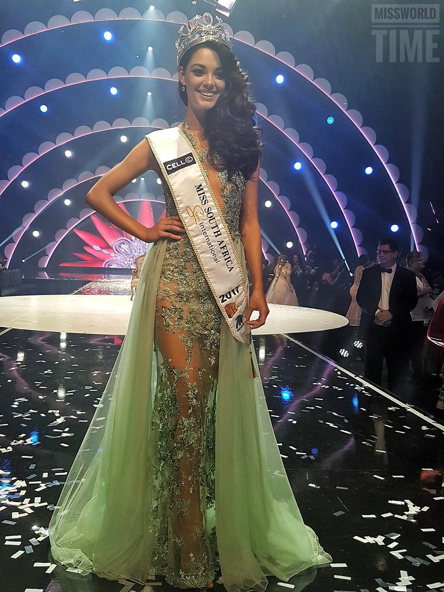 Demi-Leigh Nel-Peters  - MISS UNIVERSE 2017 - Official Thread  C73PKyhUwAEtGbo