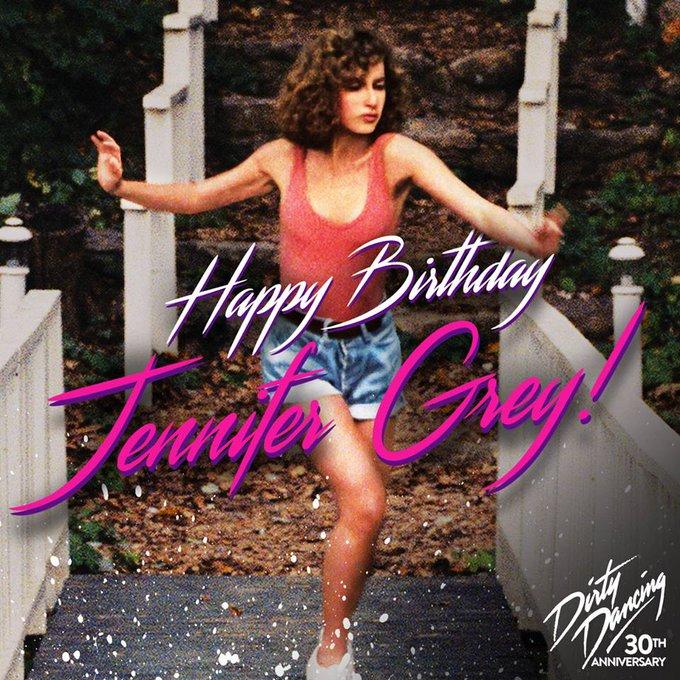 Nobody puts Baby in the corner, especially on her birthday. Happy Birthday Jennifer Grey!