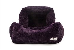 BELLA BED - ROYAL PURPLE! Grab it:   #dogs #dogbed #dogsoftwitter #puppy @PoshPuppy