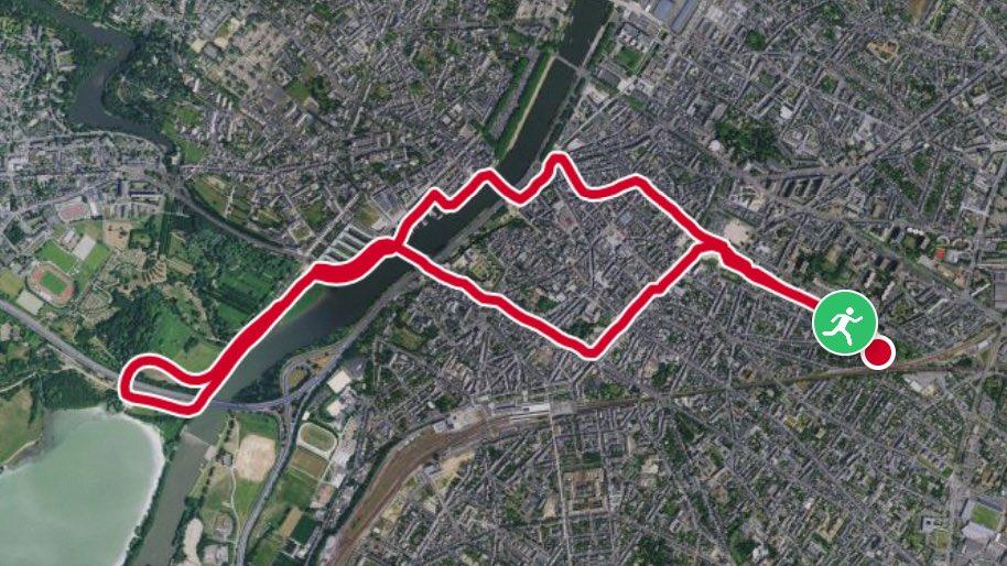 Vraiment trop agréable de #courir à #Angers #sportangers<br>http://pic.twitter.com/QZR21Q8mIh