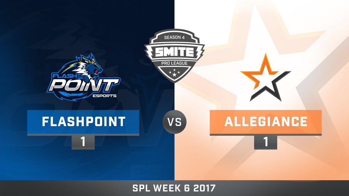 Flash Point vs Team Allegiance