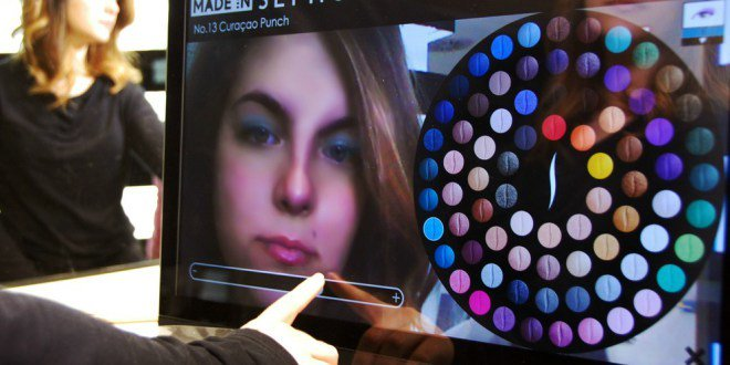 Se maquiller en réalité augmentée sur l'application #Sephora #AR #makeup  http:// ift.tt/2nCMSFn  &nbsp;  <br>http://pic.twitter.com/bOKrCvilKJ