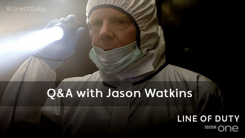 Got a burning question for #LineOfDuty's @Jason__Watkins? Send it over...