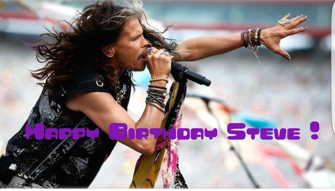 Happy Birthday Steven Tyler !