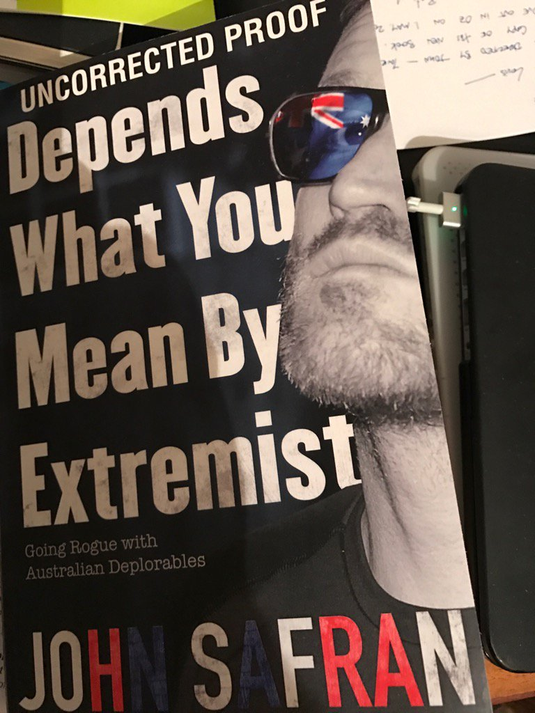 This just arrived. Latest from @JohnSafran. Excited to read it. https://t.co/EZpw6QoL1D
