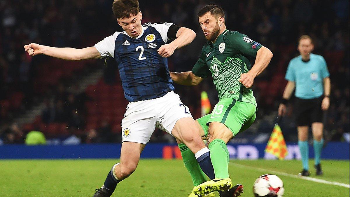 FULL TIME: Scotland 1-0 Slovenia. Scotland take all 3 points thanks to...