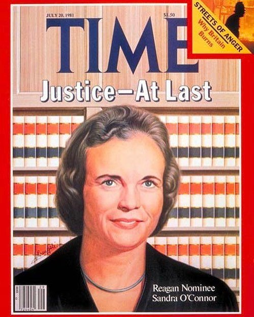 Happy birthday to Justice Sandra Day O\Connor!  O\Connor is the first woman to have served