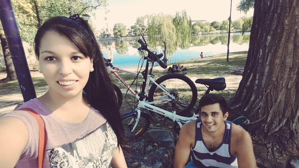 #AltaGracia en bici. #Paz <br>http://pic.twitter.com/Vh57m4ZGUR
