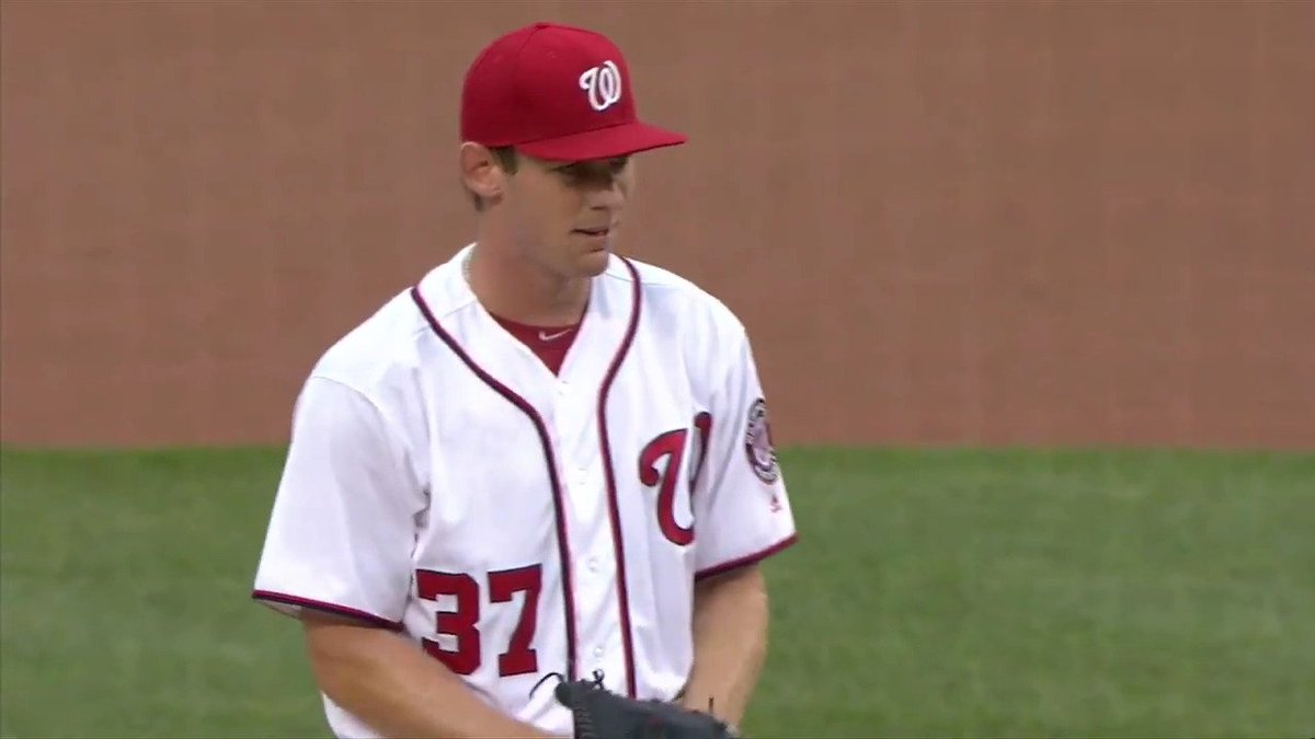 Stephen Strasburg's ready to dominate on Opening Day. https://t.co/zv9...