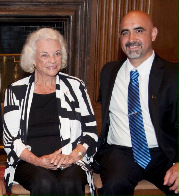 Happy 87th birthday to Justice Sandra Day O\Connor.