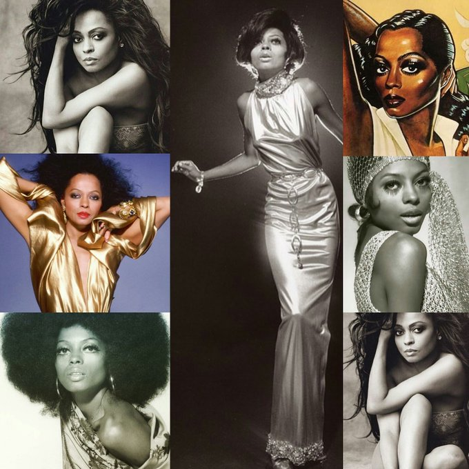 Happy birthday to the queen Ms DIANA Ross