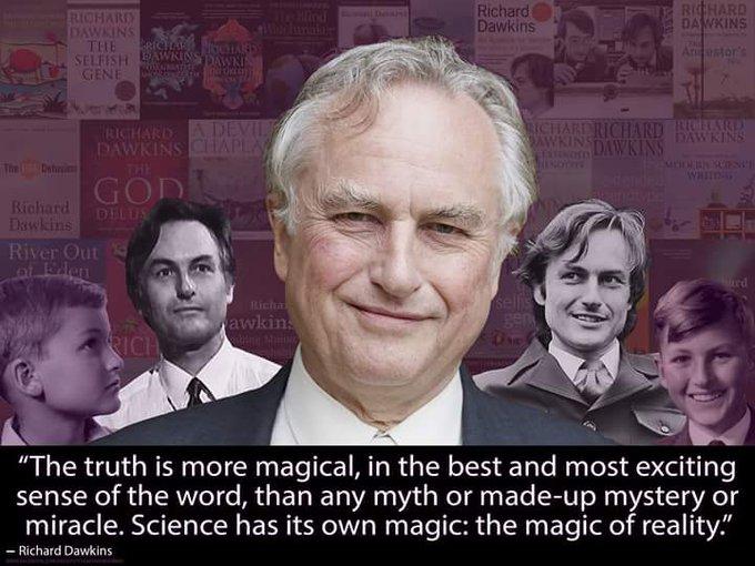 Happy birthday Richard Dawkins 76 years old!