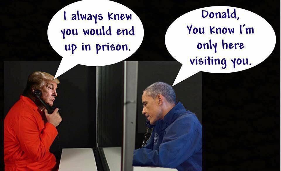 Prison visit. #TinyHands #NotMyPresident <br>http://pic.twitter.com/3jZvEdunyQ