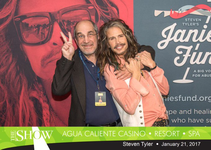 A very happy birthday to the amazing Steven Tyler you\re the best bro