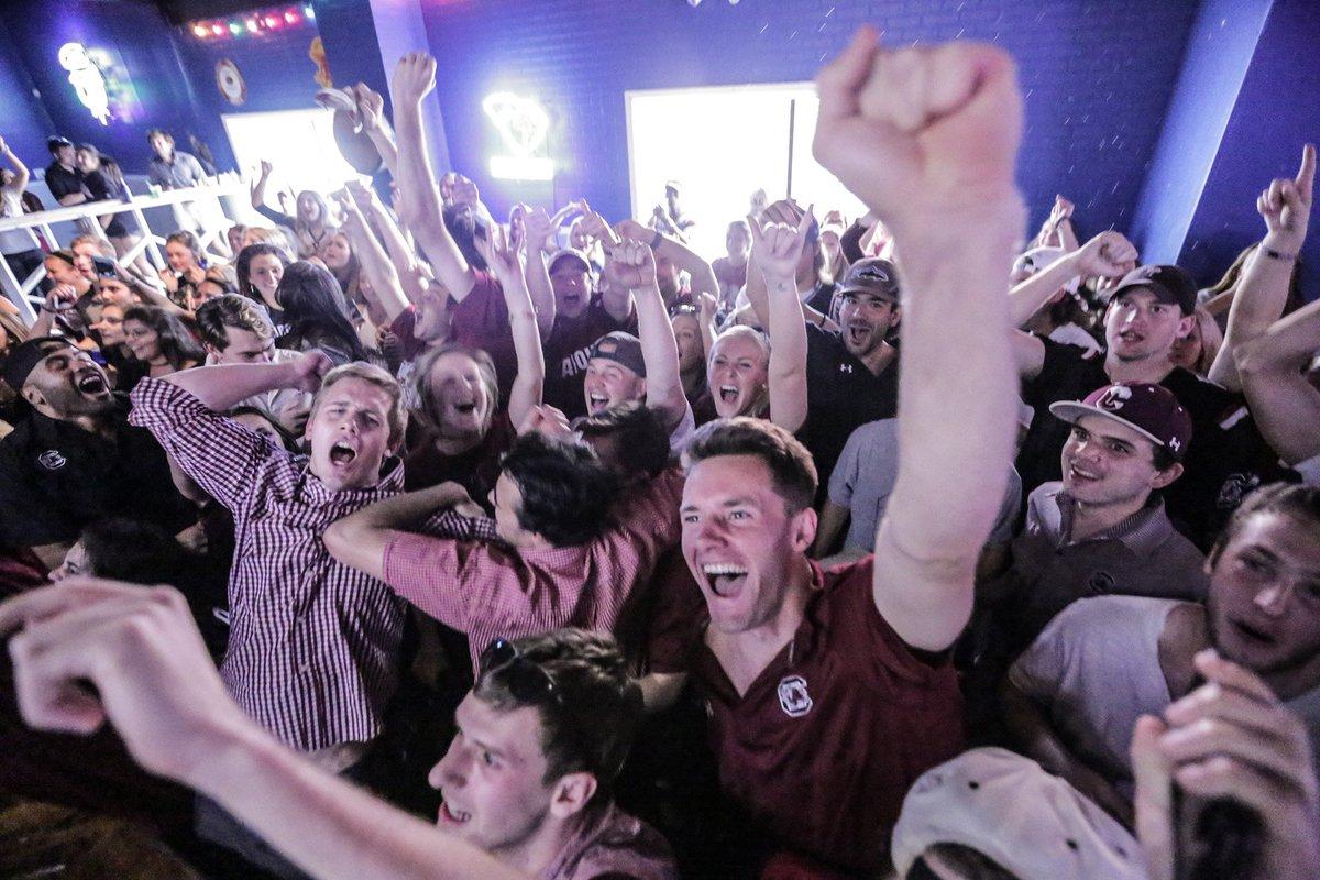 Photos: Five Points, USC campus come alive with Final Four celebrations