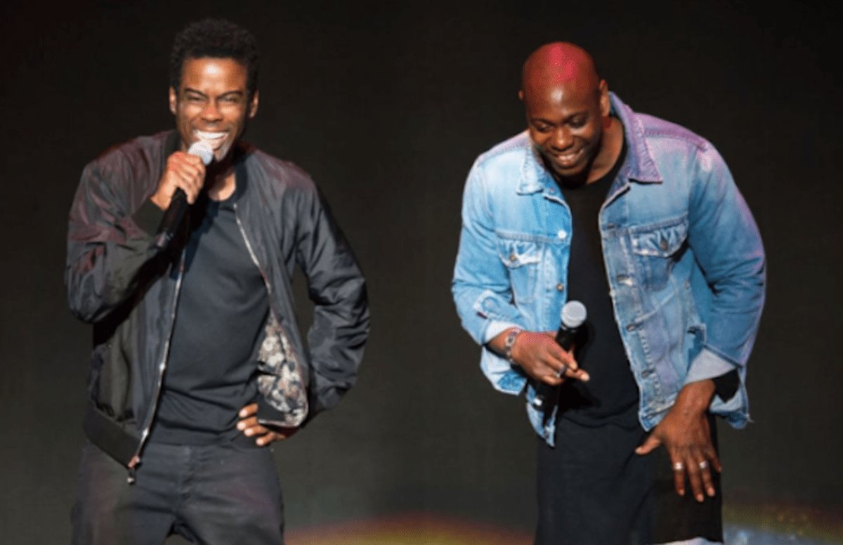 Chris Rock and Dave Chappelle shared the stage on the Total Blackout Tour in NOLA.