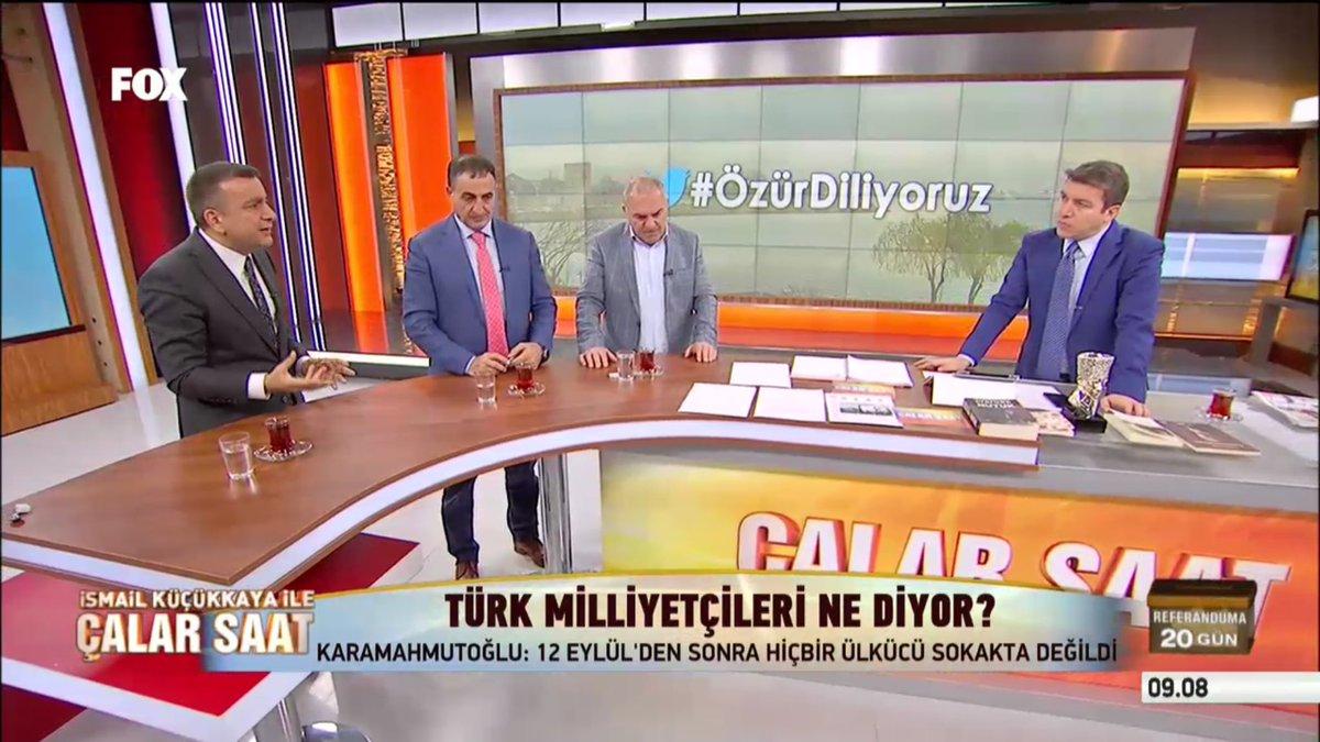 #ÇalarSaat'te 3 eski Ülkü Ocakları Başkanı A.Kaya, A.Karamahmutoğlu, S...