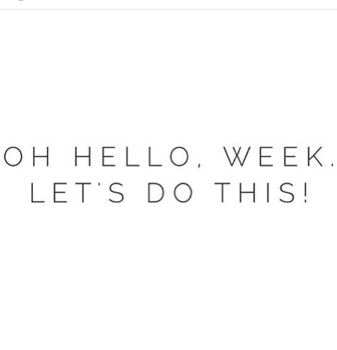 Good morning, busy week ahead !!! #MondayMorning #wegotthis #work 🙋🏼 h...