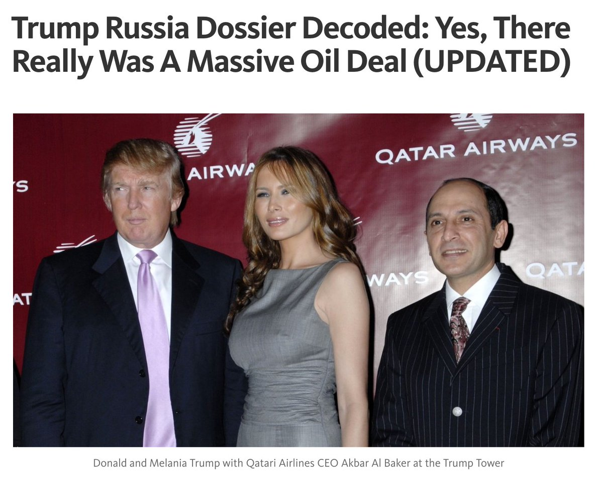 #TrumpRussia MEGA-Thread: #TrumpLeaks Decoded The Dossier. A Massive Russian Oil Privatization Deal. Just #FollowTheMoney A===&gt;Z <br>http://pic.twitter.com/Pus0kWAGxY