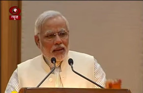 प्रधानमंत्री @narendramodi आज नई दिल्ली में ईटी ग्लोबल बिजनेस समिट 201...