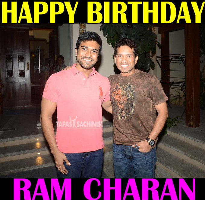 Happy Birthday Ram Charan   Be Blessed And Happy - Always  Best South Actor Ever