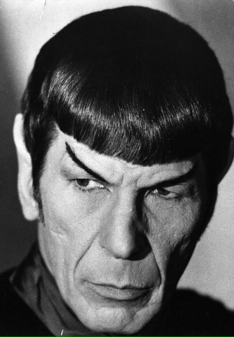 Happy birthday Leonard Nimoy aka Spock 3/26/1931