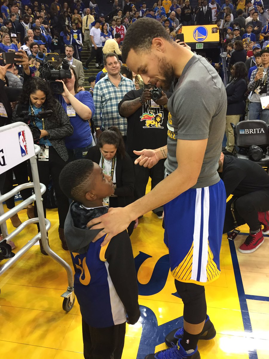Warriors pay for airfare, tickets to game for 6-year-old fan and his m...