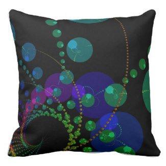 Dance of the Spheres II #Cosmic Violet Teal #Pillow  http:// bit.ly/wTLJu5  &nbsp;    http:// bit.ly/xouxEY  &nbsp;   #zazzle #fractal<br>http://pic.twitter.com/GJNHdnTlqa