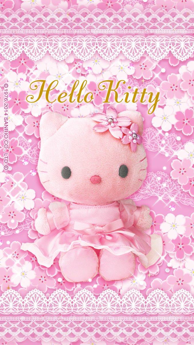 夢ことり Twitterren 今日は桜の日と言う事なので桜の壁紙をひたすら載っけて見ました 笑 ハローキティ リラックマ チップとデール さくらの日