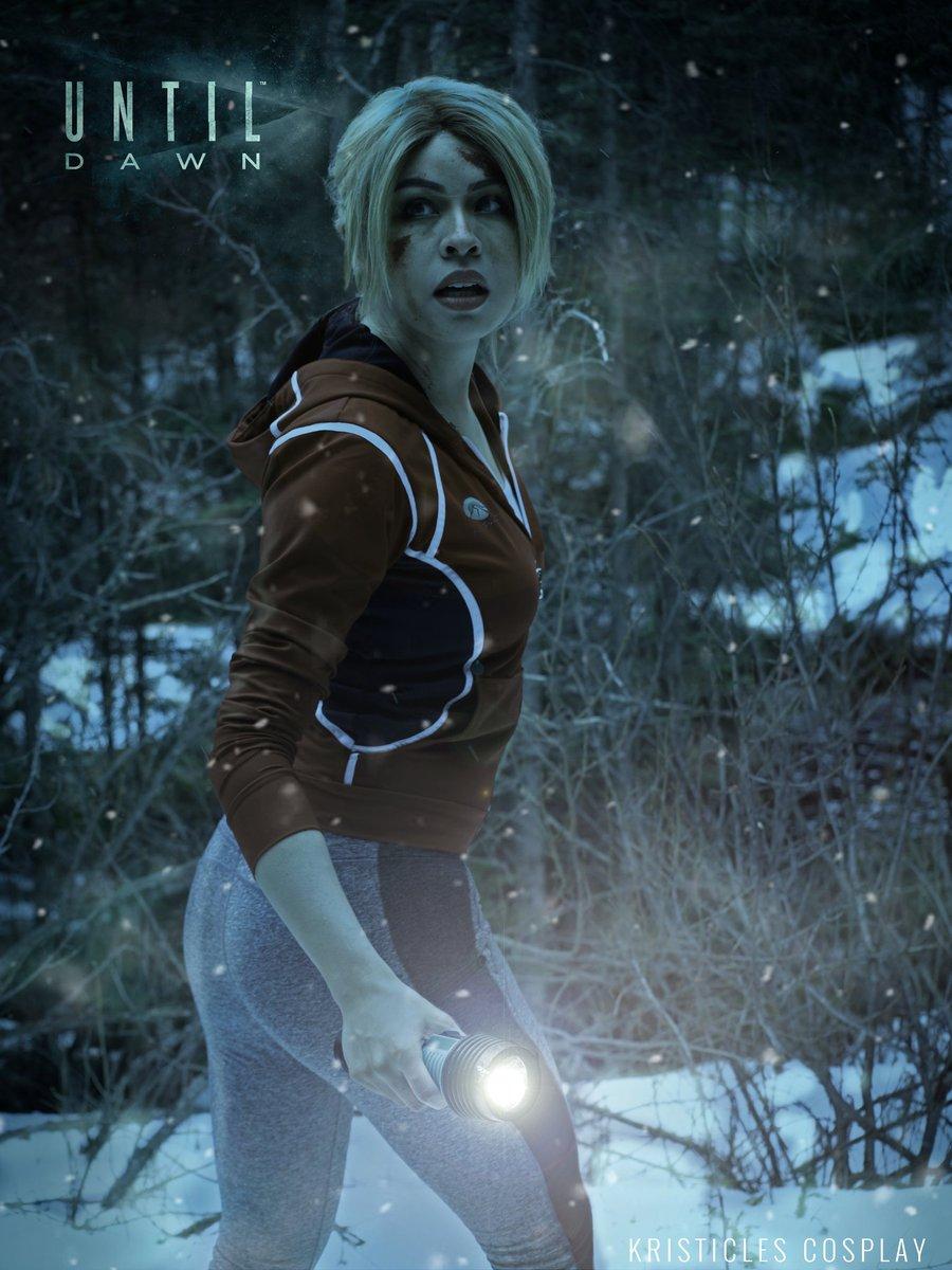 @_tarrantula_  Assistance/sacrificial tribute @YABOYMEGAN  edit/wendigo bait me #cosplay #untildawn #samuntildawn<br>http://pic.twitter.com/U3rny70gIF