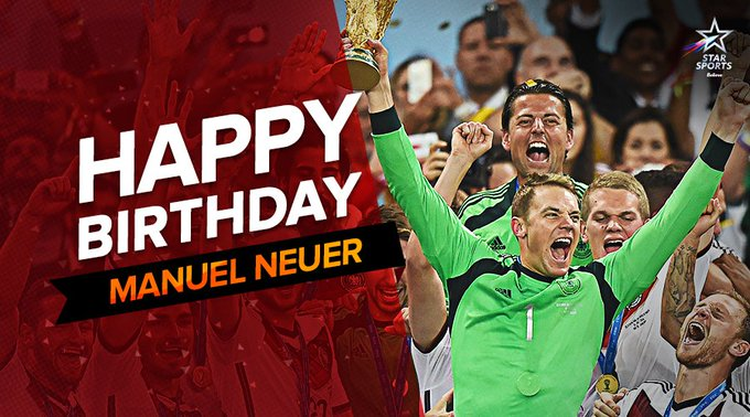 Wishing the Germany and sweeper-keeper a very happy birthday!