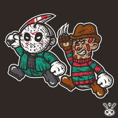 #jasonvorhees #freddy #nightmare #fridaythe13th Grab one.@TeePublic  https://www. teepublic.com/t-shirt/536521 -horror-duo &nbsp; … <br>http://pic.twitter.com/HiEHxqWnwH