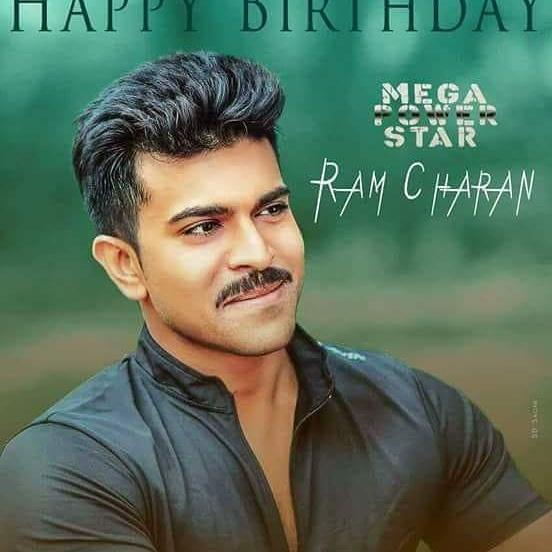Happy birthday mega power star RAM charan tej..