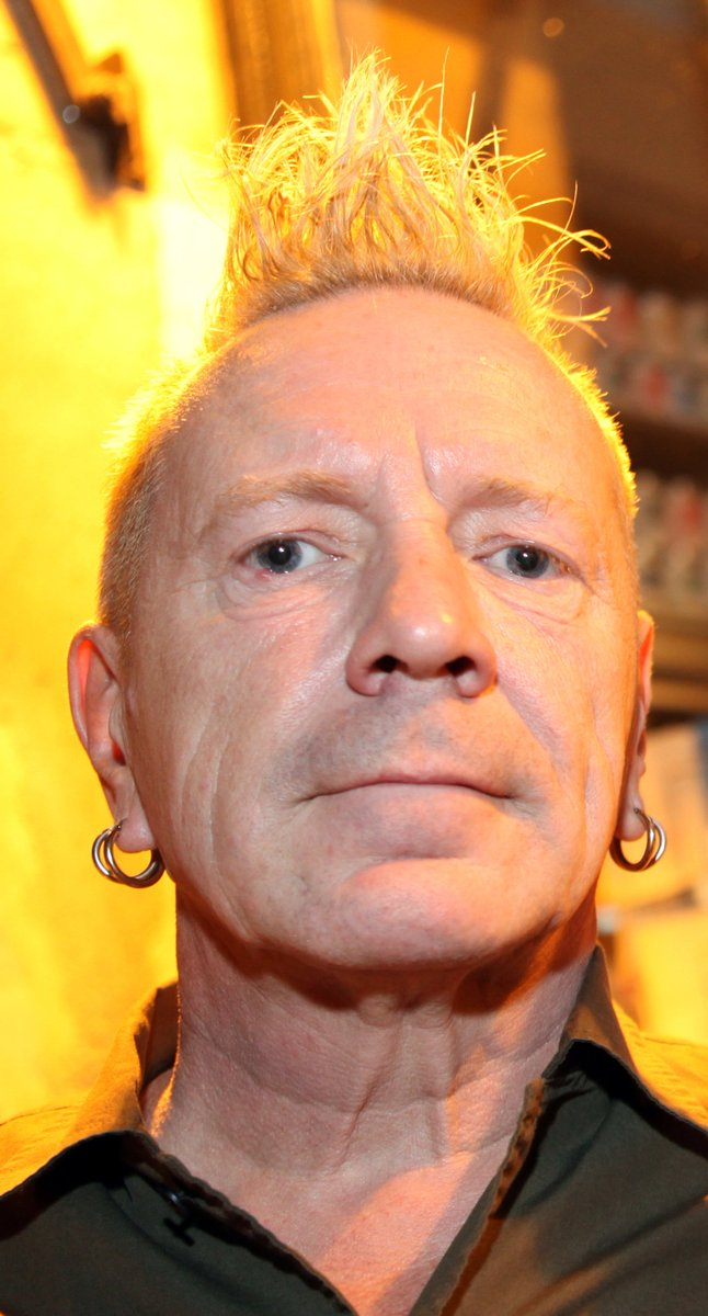 Coming up: Punk pioneer Johnny Rotten @lydonofficial will be on the so...