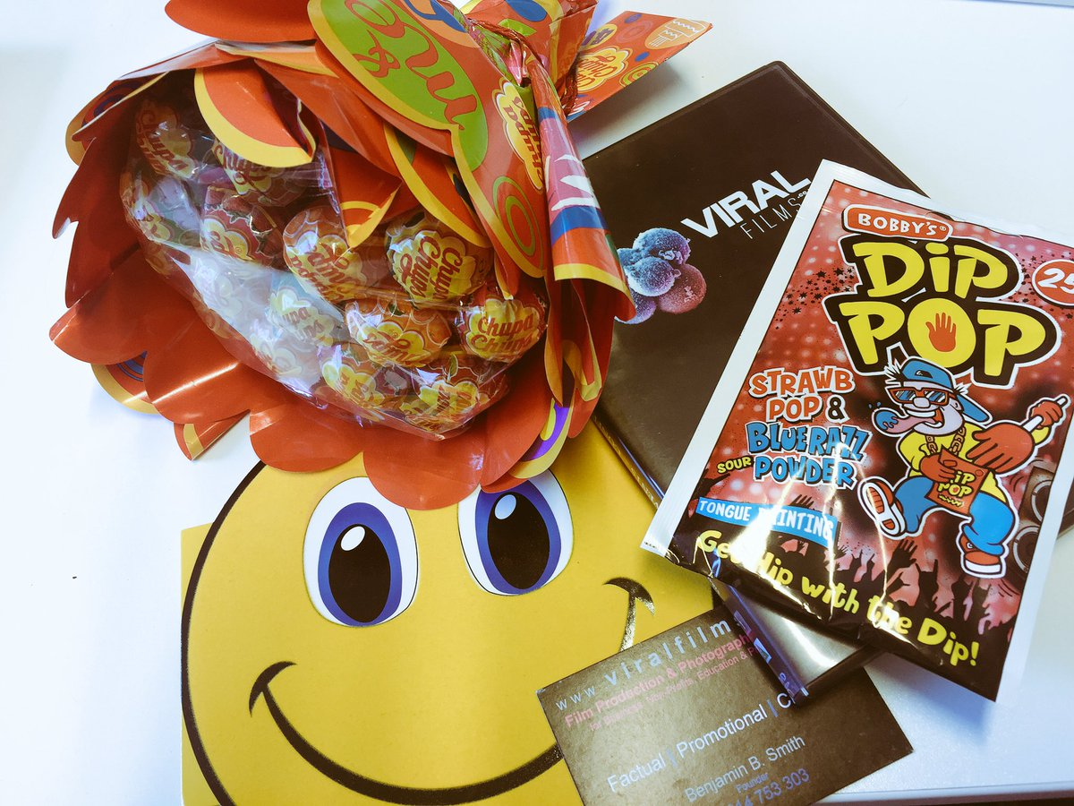 Thank you so much to @_ViralFilms for sweetening our Monday morning! 🍭🍬 https://t.co/9IO8Xm0vNE