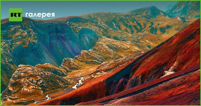 Игра цвета: как земные пейзажи превращаются в фантастические иллюстрации