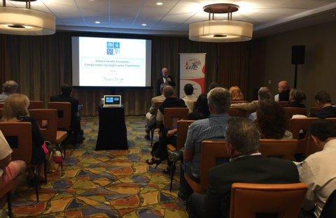 #Floride : Novelvy Retraite animait une #conférence sur les #retraites françaises avec @UFEMONDE et Miami Accueil !  http:// novelvyretraite.fr/conference-ret raites-succes-a-miami/ &nbsp; … <br>http://pic.twitter.com/NjDIaHiNlo