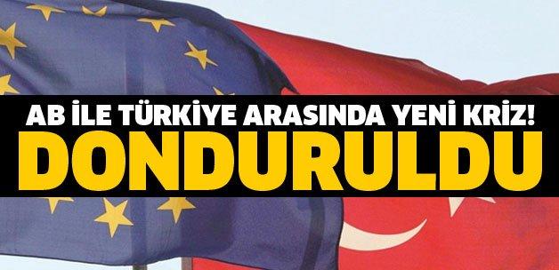 Avrupa Birliği ve Türkiye arasında yeni kriz! DONDURULDU... https://t....