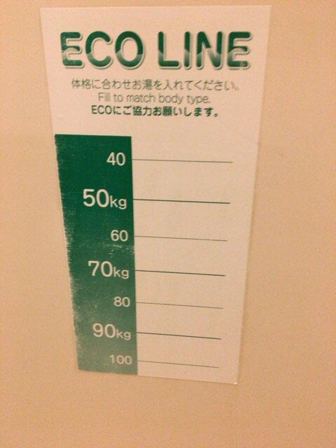 仙台のホテルの浴槽に貼ってあった。エコという名のデブへのdisりに心がえぐられた。 https://t.co/zyQSaWDWPI